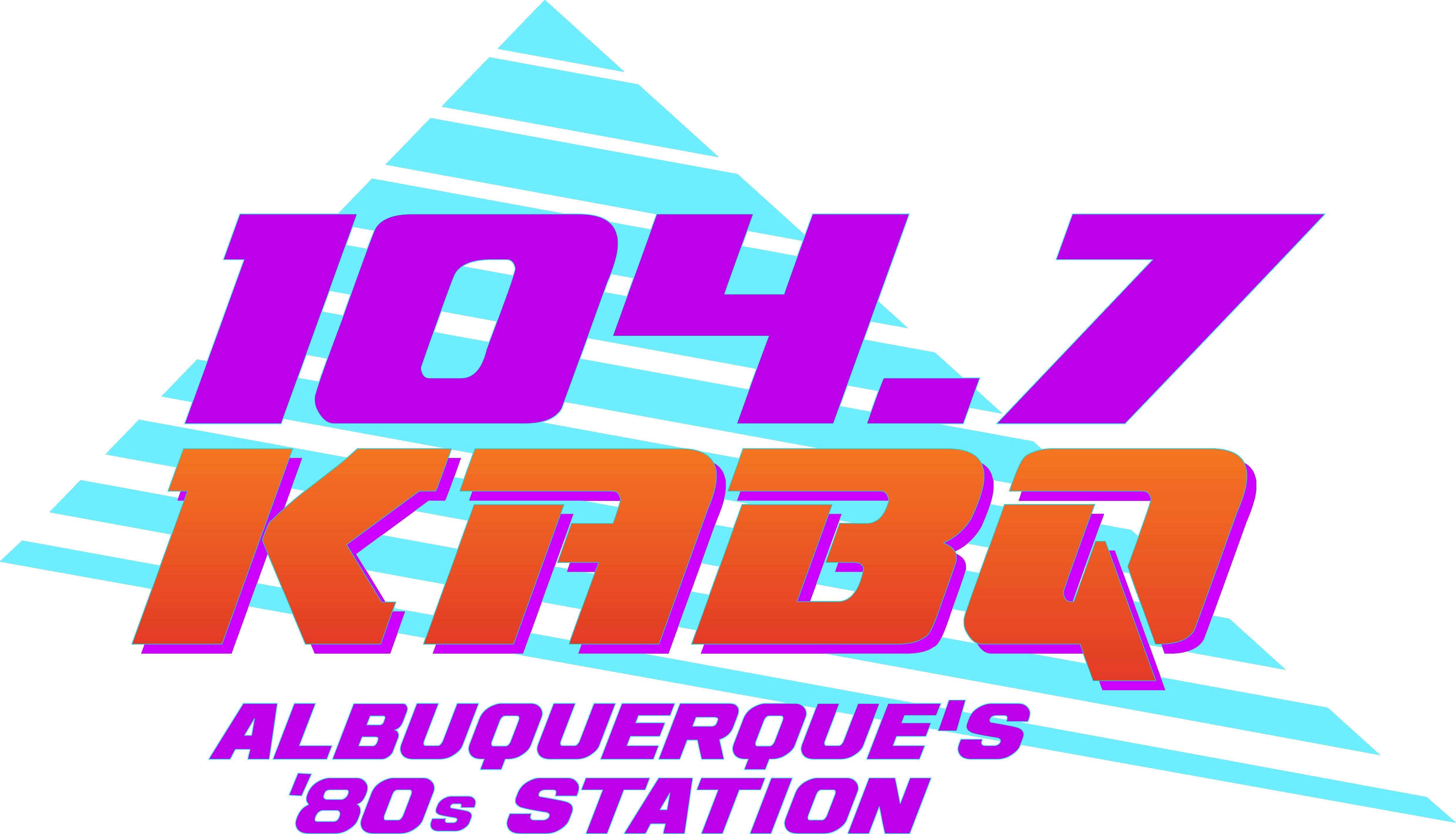 2019 KABQ 80s Radio Logo