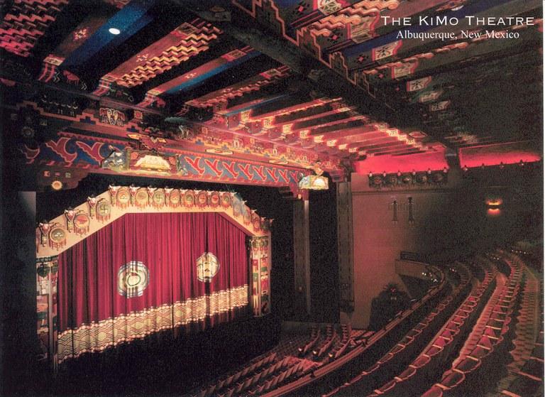 KiMo Theatre - from balcony