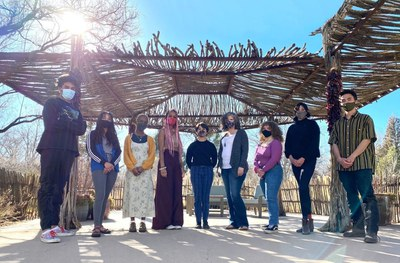 A jpeg of ListenABQ, a cohort of young Albuquerque-based artists responding to an invitation by Mayor Tim Keller to develop a creative response to the events and challenges of 2020.