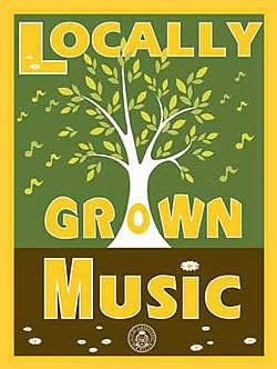 Locally Grown Music Logo