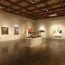 An image of a gallery inside the Albuquerque Museum of Art and History.