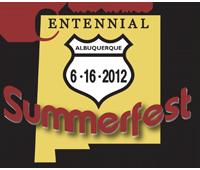 N.M. Centennial Summerfest Logo