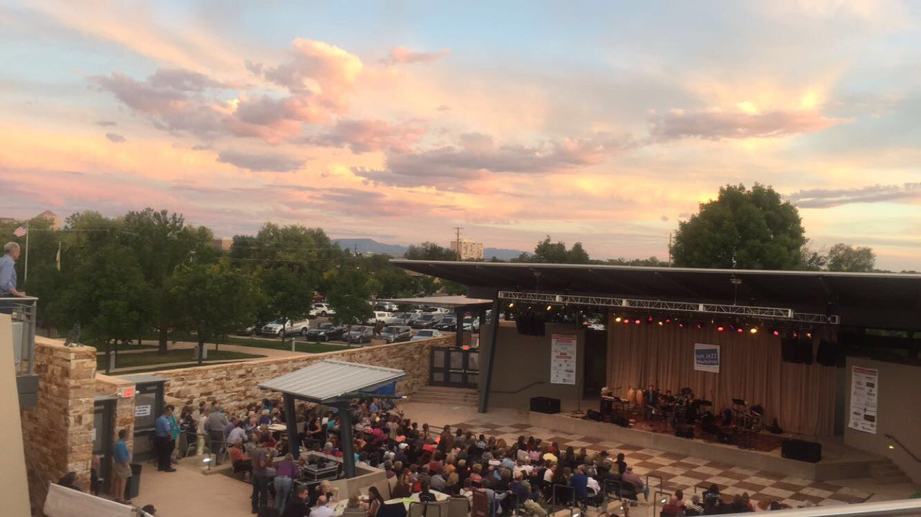 Amphitheater_Sunset