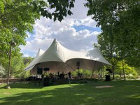 Botanic Garden Tent Performance Space
