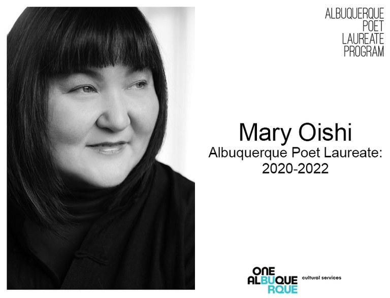 Poet Laureate - Mary Oishi
