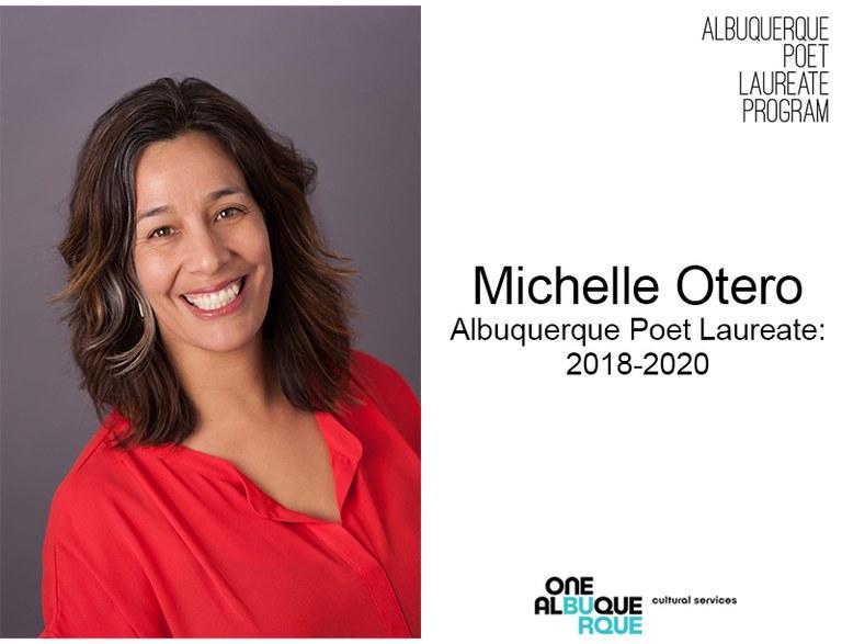 Poet Laureate - Michelle Otero