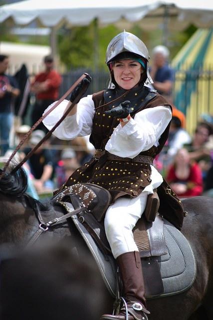 Ren Faire 2014 Woman on Horse
