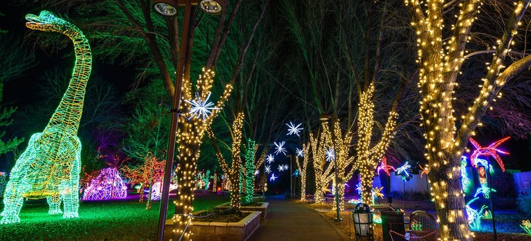 River of Lights Path