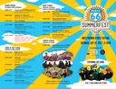Route 66 2017 Summerfest Outpost Schedule