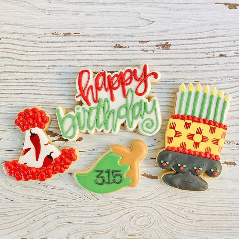 Rude Boy Cookies - ABQ Bday Cookies