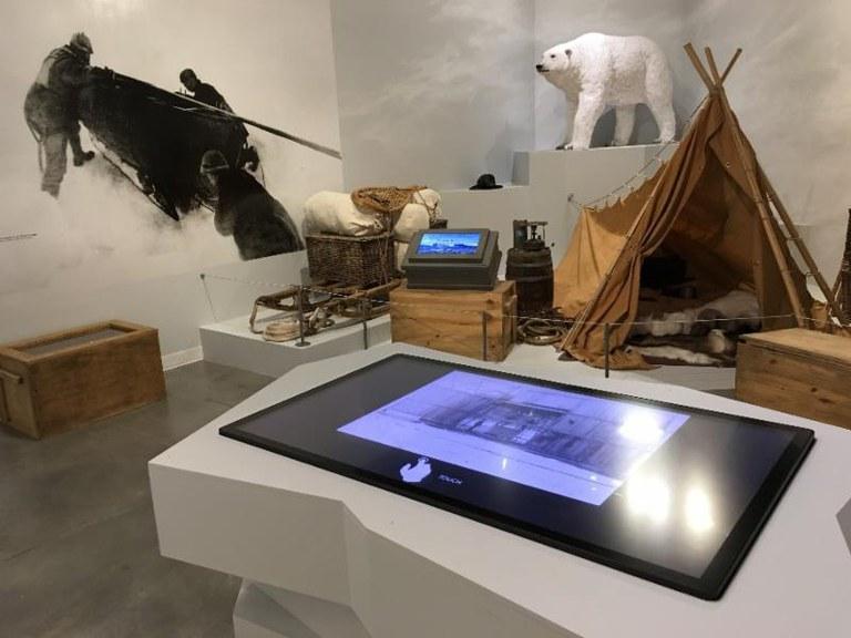 Andree exhibit