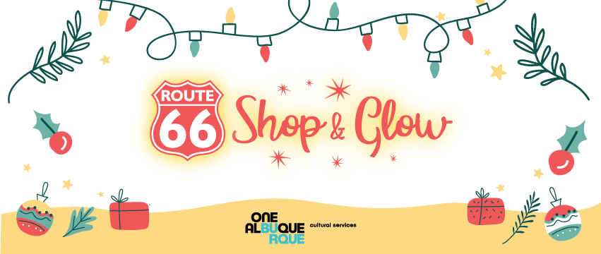 Route 66 Shop & Glow Graphic - New
