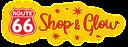 2020 Route 66 Shop & Glow Logo