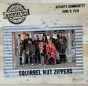 2018 Heights Headliner Squirrel Nut Zippers on Wood and Tin