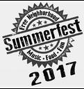 Summerfest Logo 2017 B&W
