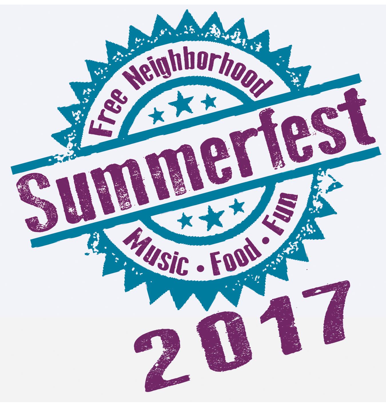 Summerfest 2017 Logo