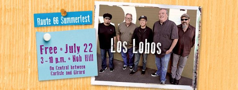 Los Lobos Cover Photo 2017 Route 66