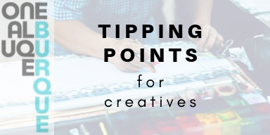 Tipping Points for Creatives Logo
