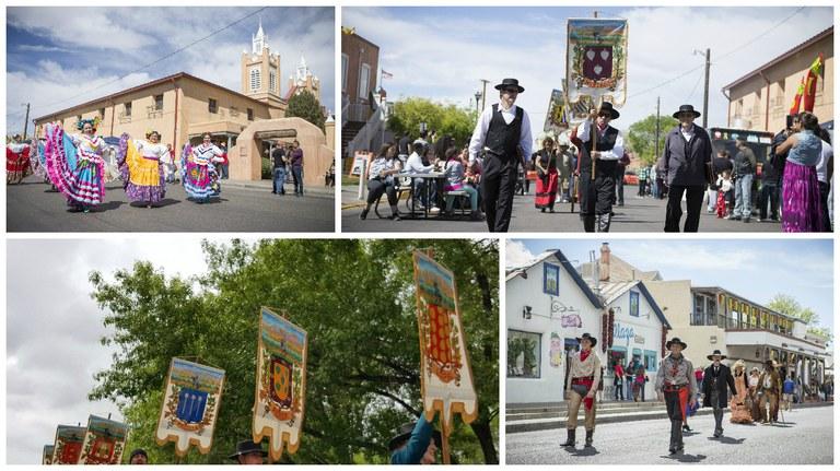 Fiestas Collage 2017