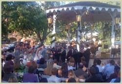 Wedding on Civic Plaza