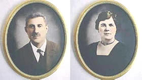 Oreste and Maria Bachechi