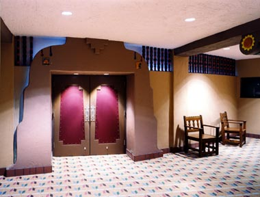 New lobby entry doors into the auditorium & Refurbished Auditorium Doors \u2014 City of Albuquerque