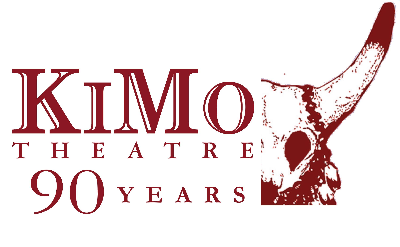 Logo of the KiMo's 90th Anniversary.