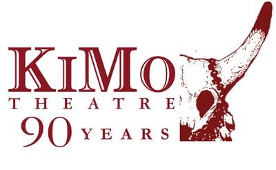 Logo of the KiMo Theatre's 90th anniversary.