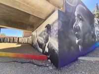 City Honors MLK Jr. with New Public Art Mural Downtown