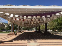 City Opens Public Art Installation at Civic Plaza Honoring Community Experiences from the Pandemic