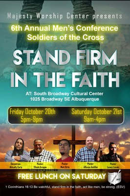 6th Annual Men's Conference Soldiers of the Cross