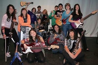 Rock and Rhythm Youth Orchestra 2015 and the Cali Shaw Band