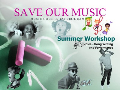 Save Our Music Summer Workshop