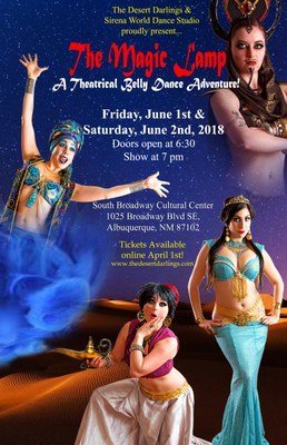 The Magic Lamp: A Theatrical Belly Dance Adventure!