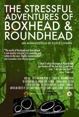 The Stressful Adventures of Boxhead & Roundhead (USA 2014)