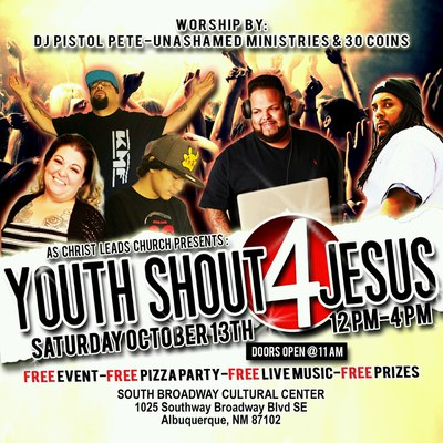 Youth Shout for Jesus