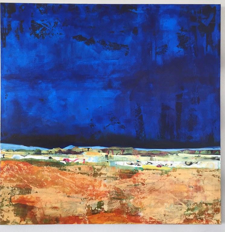 Layered Art Exhibition Tile