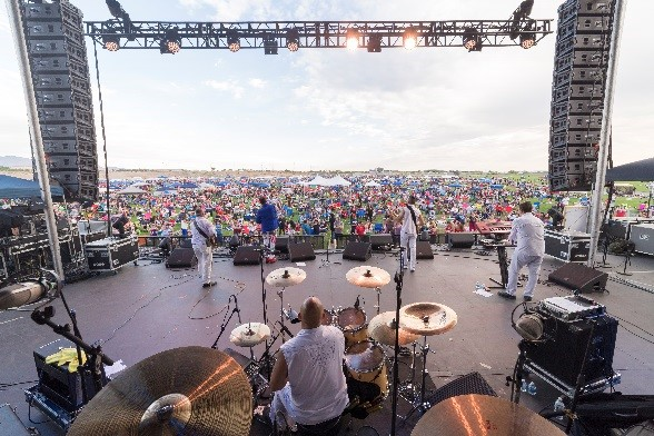 A photo of a recent Freedom 4th concert