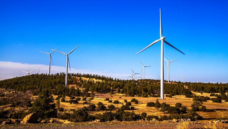 Wind Turbines on Mesa