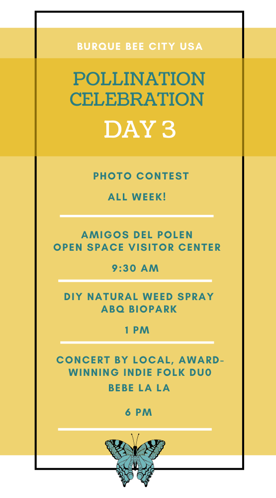 Pollination Celebration: Day Three Agenda