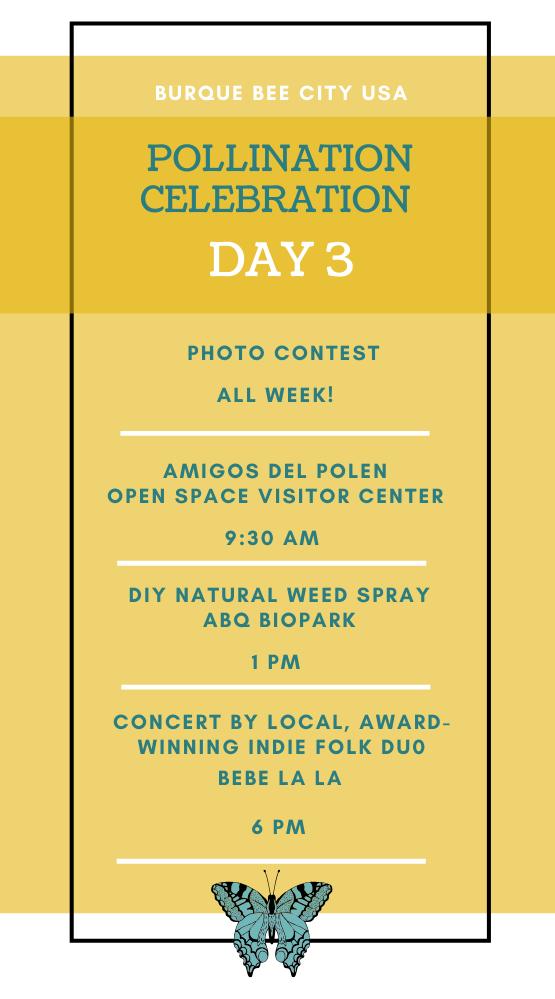 Pollination Celebration: Day Three Agenda