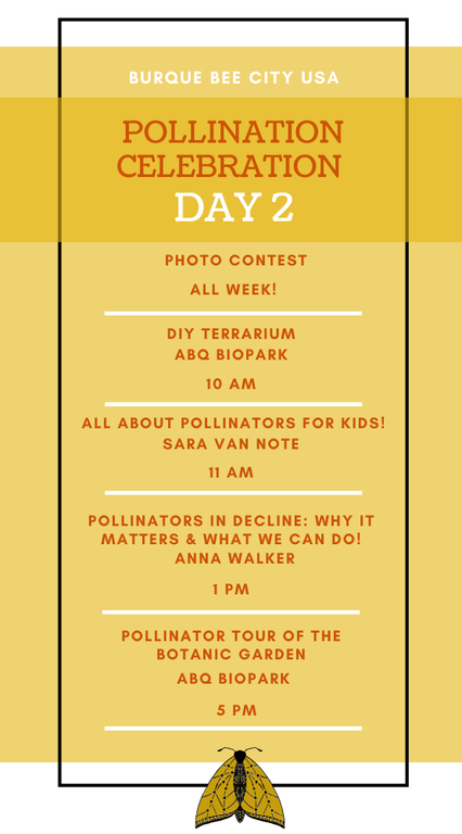Pollinators Celebration: Day Two Agenda