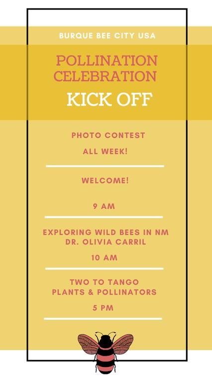 Pollination Celebration: Day One Agenda