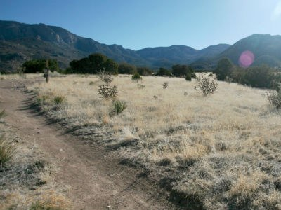 Image of ABQ open space in the Sandia foothills.
