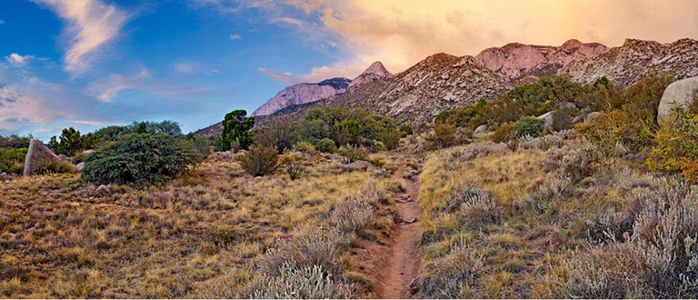Sandia Mountain Hiking Trails