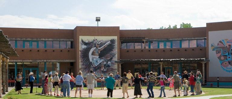 Indian Pueblo Cultural Center Friendship Dance