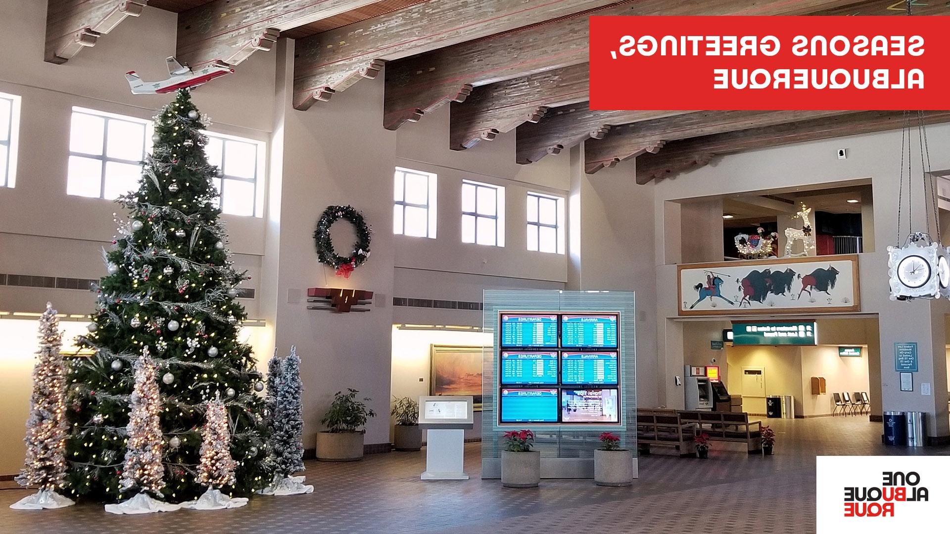 Sunport Holiday Zoom Background
