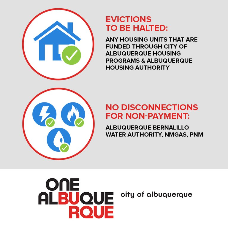 Evictions and Utility Cutoffs Halted