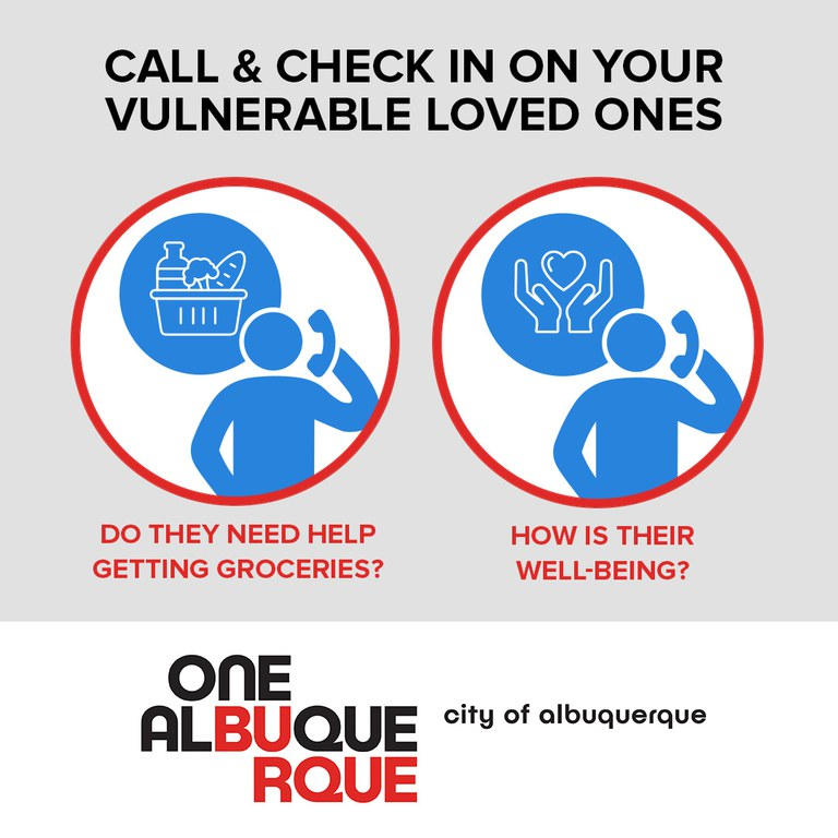 Call & Check In On Your Vulnerable Loved Ones