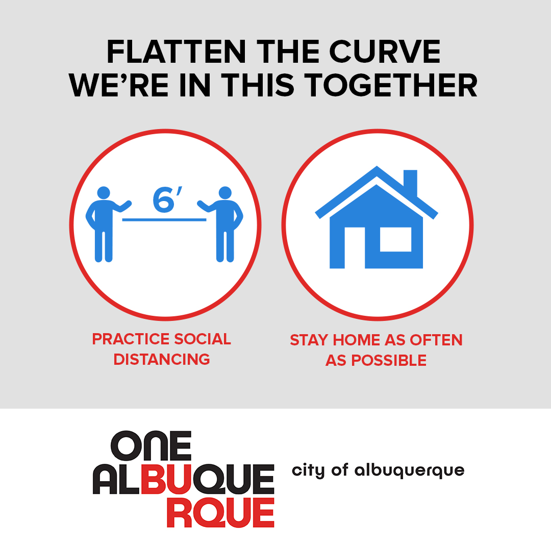 Flatten the Curve; We're in this Together